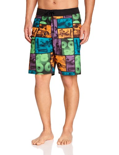 DC Shoes Toolz - Shorts - Homme - Multicolore (Wheels) - Medium (Taille fabricant: 32)
