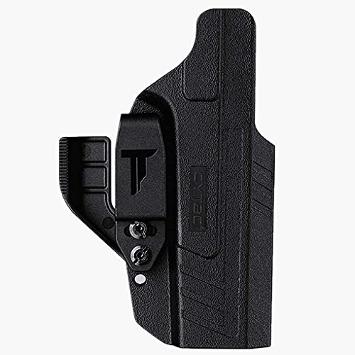 Ambidextrous IWB Holster for Glock 19 23 32 - Metal Belt Clip W/Claw Kit(Tuckable) | Adjustable Cant | Inside Waistband | Right & Left