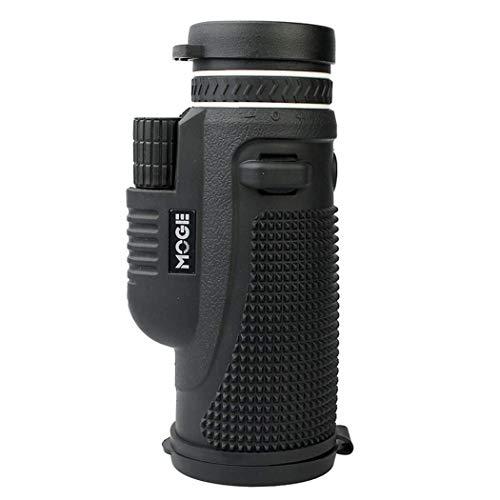 WEI-LUONG HD monocular, telescopio monocular Zoom con el teléfono y Soporte for trípode, monocular for la observación de Aves, Caza, Camping, Senderismo, al Aire Libre 40X60 al Aire Libre