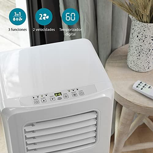 Tristar AC-5477 – Aire acondicionado portátil, capacidad de enfriamiento 1750 frigorías