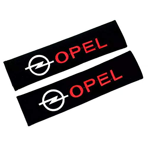2Pack Auto Gurtpolster Sicherheitsgurt Bügel Gurtschutz Stickgurt bedeckt Kissen mit Auto-Logo