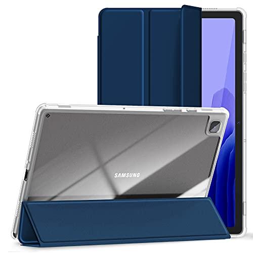 Kdely Cover Compatibile con Samsung Galaxy Tab A7 10.4 Pollici Custodia Retro Trasparente, Sottile Leggero Case Protettiva per Samsung Galaxy Tab A7 - Blu Navy