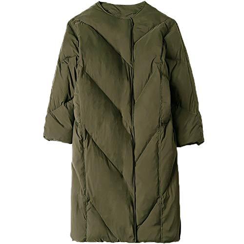 NZHK Dames Donsjas/Waterdichte Jacket/Winterjas Dames/Lange Donsjas/Grote Maat Dik Warm, Draag een sjaal