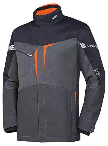 Uvex Protection Metal 8933 - Graue Sicherheitsjacke für Herren - Gr M