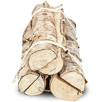 19cm Birkenstamm zum bepflanzen Pflanzscha NaDeco Birkenstamm Pflanzenschale ca