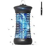 IREGRO Lámpara Antimosquitos, 6W UV Repelente de Mosquitos Trampa Eléctrico, Mosquito Killer al Interior, Asesino de Mosquitos no Tóxico, para Dormitorio, Sala de Estar, Cocina, Oficina