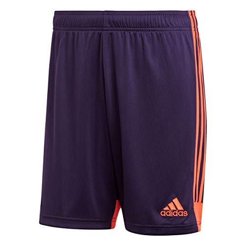 Adidas Tastigo 19 SRT, Pantaloncini Uomo, Blu (Legend Purple/True Orange), M
