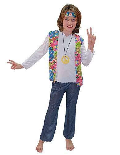 PARTY FIESTA Disfraz Hippie (5-6)