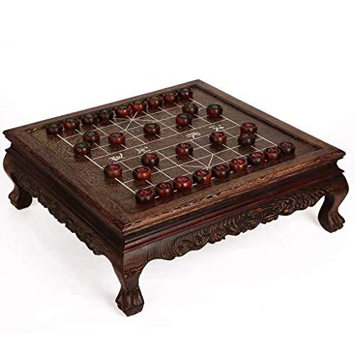 FMOGE Xiangqi Tisch Chinesisches Schachspiel Strategie Brettspiele, Heimspiele Klassisch Pädagogisch Für 2 Spieler (Puzzle Entertainment Familie)