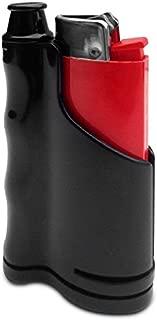 Snub One Cigarette Snubber and Lighter Holder with Built-in Odor Absorbing Filter! Black