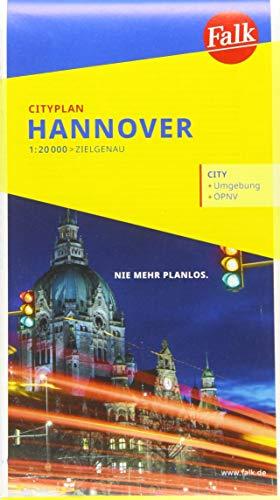 Falk Cityplan Hannover 1:20.000 (Falk Citypläne)