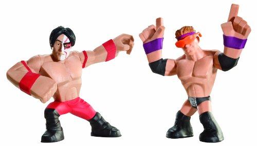 WWE Rumblers Yoshi Tatsu and Zack Ryder Figure, 2-Pack