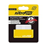 Enchufe y conduzca la caja de ajuste de chips Nitro OBD2 Performance para automóviles de...