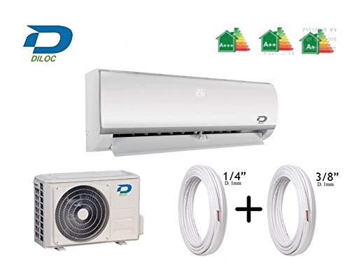 Diloc FROZEN airconditioning 24000 Btu R32 Inverter Wand D FROZEN24+D FROZEN124 Sharp compressor + koperen buizen 3/8