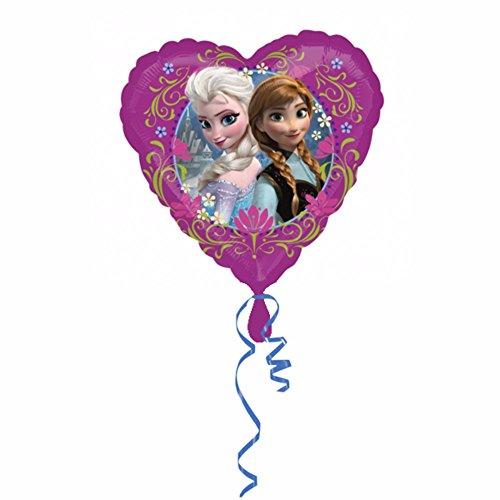 Anagram - Globo con forma de corazón Disney Frozen (46cm) (Multicolor)
