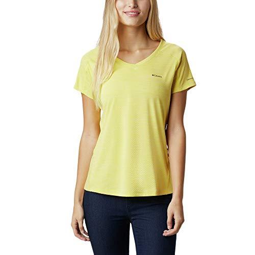 Columbia Zero Rules T-Shirt à Manches Courtes pour Femme XL Buttercup Heath