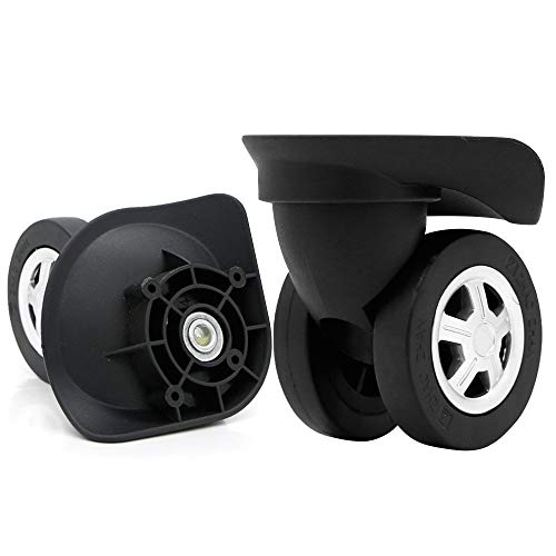 Super Ma Couple of Mute Replacement Luggage Suitcase Wheels Multi-size Swivel Wheels (W045)