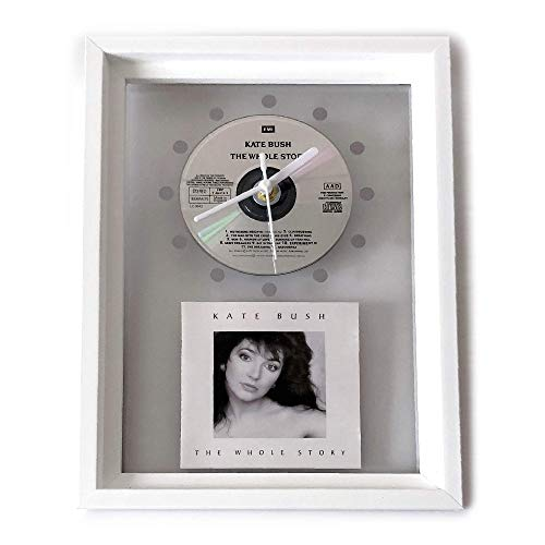 KATE BUSH - The Whole Story: GERAHMTE CD-WANDUHR/Exklusives Design