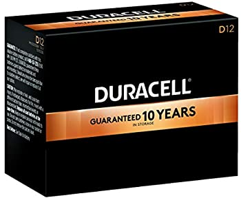 Duracell - CopperTop D Alkaline Batteries with recloseable package - long lasting all-purpose D battery for household and business - Pack of 12