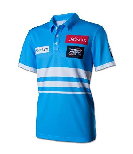 Unbekannt Dart Polo Shirt Vincent Van der Voort Replica Match Shirt blau 3XL