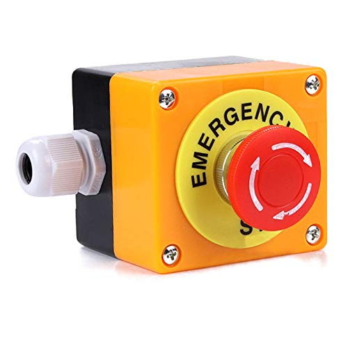 PerGrate 708/5000 1 NO 1 NC 10A 660 V Interruttore di emergenza a fungo rosso