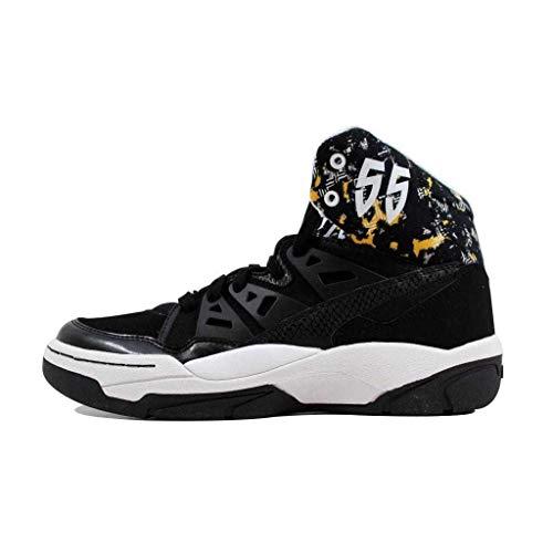 adidas Mutombo Schuhe Turnschuhe Basketball Trainers schwarz
