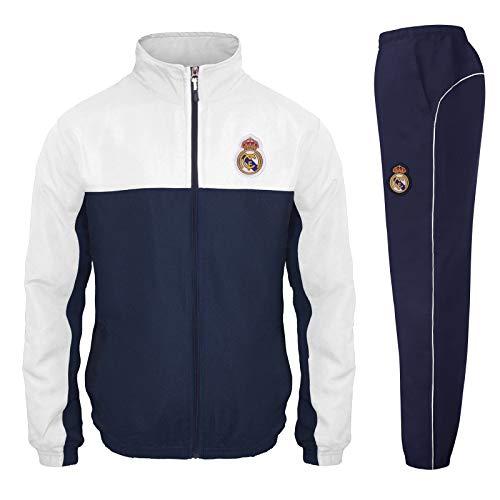Real Madrid - Chándal Oficial para niño - Chaqueta y pantalón Largo...