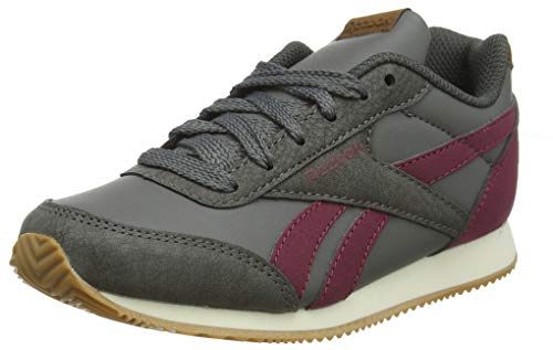 Reebok Herren Royal Cljog 2 Fitnessschuhe, Mehrfarbig (Outdoor/Graphite/Triath Red/Cream Wht/Gu 000), 36 EU
