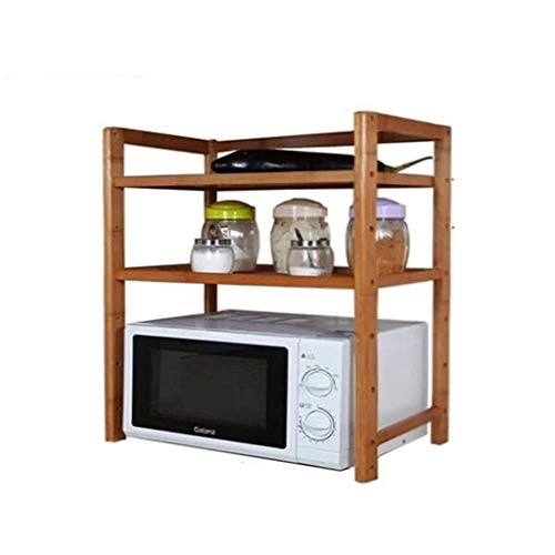 YLCJ Keuken plank voor magnetron plank voor specerijen plank voor multifunctionele keuken kast/plank voor keuken magnetron (afmetingen: 43 × 33 × 67 cm) (Afmetingen: L)