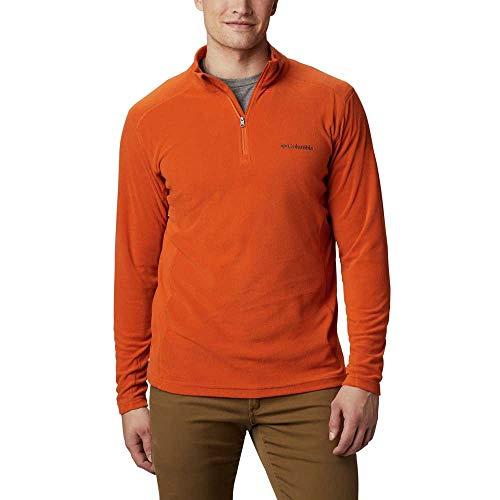 Columbia Herren Fleecepullover Fleecejacke Klamath Range II Half Zip, Orange 820 (Harvester), M