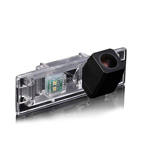 Navinio Caméra de Recul Voiture en Couleur Caméra vue arrière de voiture Imperméable large Vision Nocturne pour Mini Clubman/ Convertible/ Countryman/ Couper/1 Series E81 e87 F20 135i 640i 120i M1