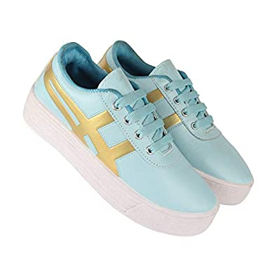 Shoefly-5025 Blue Exclusive Range of Loafers Sneakers Shoes for Women