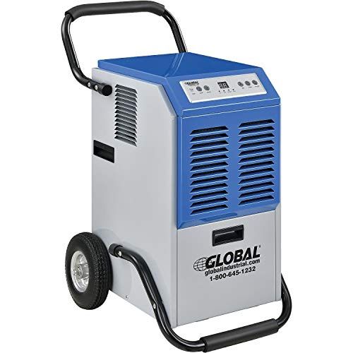 Portable Heavy Duty Commercial Dehumidifier, 110 Pints Per Day