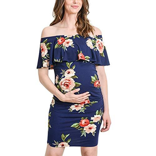Sayla Ropa Embarazada Verano de Mujer Vestidos Lactancia Premama Elegante Embarazo Maternidad...