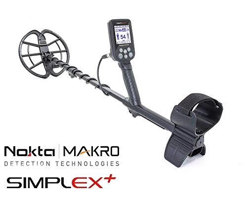 Nokta Makro Metal Detector Simplex Plus + Easy 11″ DD Wasser 3M