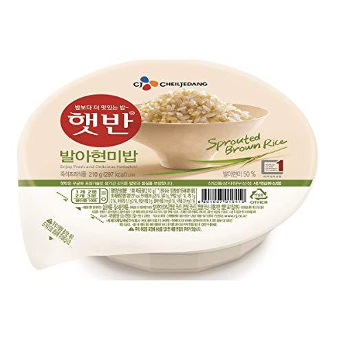 C J 5349 gekochter Reis in Schale für Mikrowelle, 210 g