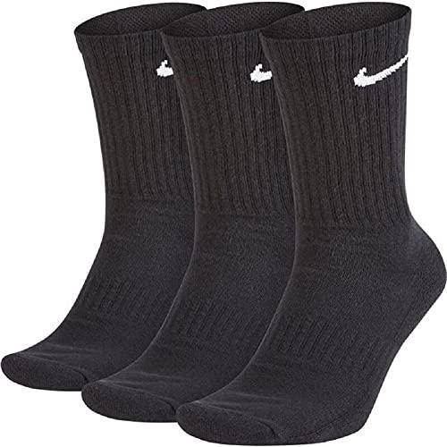 Nike Everyday Cushion Crew Socks Socken 3er Pack (M, black/white, m)