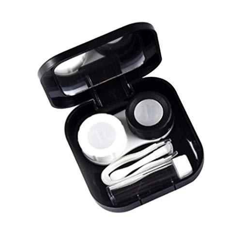 SUPVOX Kontaktlinsen-Reiseetui Tragbares Kontaktlinsen-Set Kontaktlinsenbox Augenpflege-Set Halter Spiegelbox