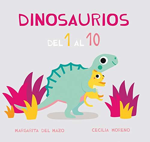 Dinosaurios del 1 al 10 (Miau Cartón)