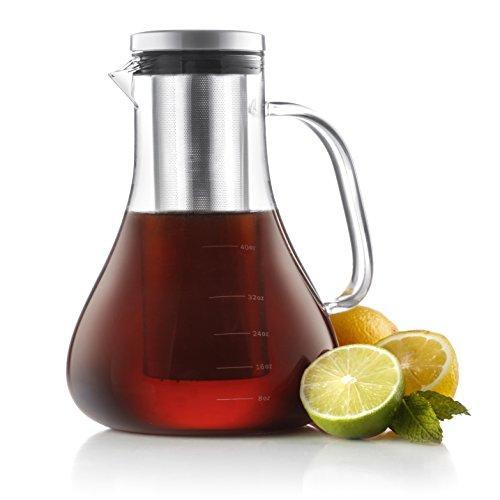 JoyJolt Infuso Cold Iced Coffee Maker - Glass 1.5 Liter.