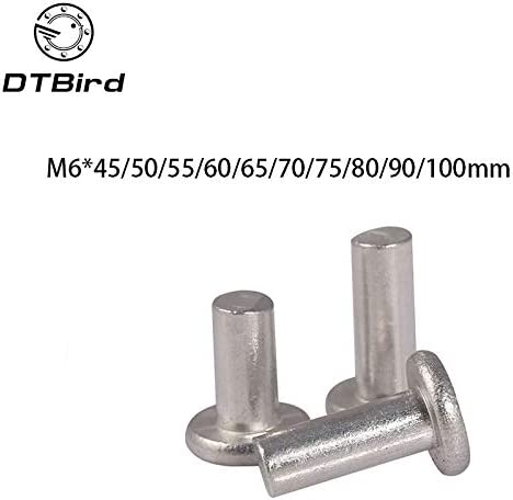 Ochoos M6x45 50 55 60 65 70 90 100mm Stainless Length stee Max 83% OFF At the price 80 75