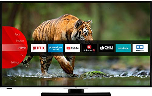 JVC LT-50VU6955 126 cm / 50 Zoll Fernseher (Smart TV inkl. Prime Video / Netflix / YouTube, 4K UHD mit Dolby Vision HDR / HDR 10 + HLG, Bluetooth, Works with Alexa, Triple-Tuner) [Modelljahr 2020]