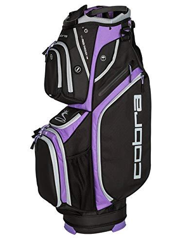 Cobra Ultralight Cart Bag/Golfbag Schwarz/Violett Puma Golftasche 909264, Farbe:Schwarz/Lila