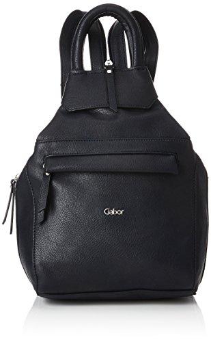 Gabor bags Rucksack Damen Mina, Schwarz, M, Rucksackhandtasche, Gabor Tasche Damen
