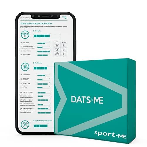 DATSME - SportMe, test Genetico, performance sportive, con kit DNA