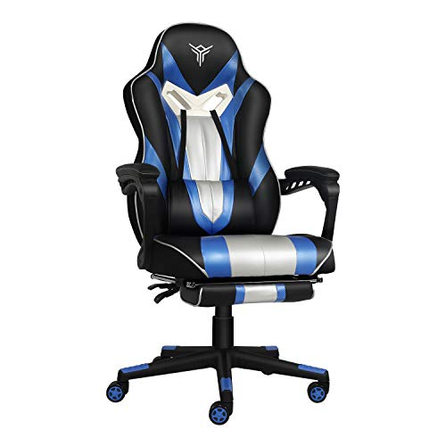 Video Gaming Chair Racing Office - PU Leather High Back Ergonomic...