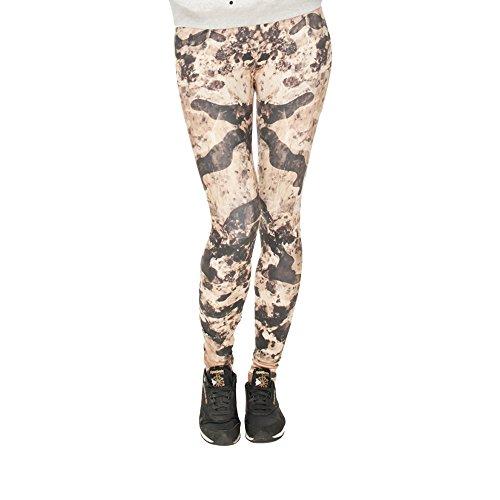 Hanessa Frauen Leggins Geschenk zu Weihnachten Bedruckte Leggings Hose Frühling Sommer Kleidung Army Tarn-Look