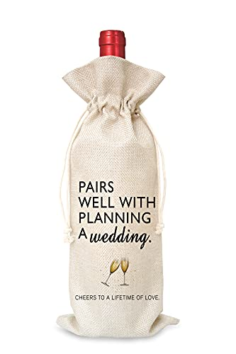 Wedding Gifts Wine Bag(1 Pc), Mr and Mrs Wedding Gift, Engagement...