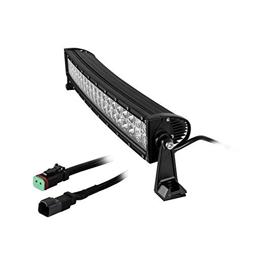 Price comparison product image Heise - 22 Inch Dual Row Curved Light Bar (HE-DRC22)