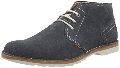 camel active Delta 13, Herren Desert Boots, Blau (indigo), 41 EU (7.5 Herren UK)